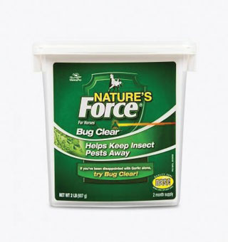 NATURE'S FORCE® BUG CLEAR™ FEED SUPPLEMENT 2 LB
