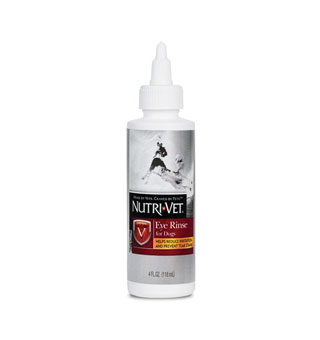 NUTRI-VET CANINE EYE RINSE 4 OZ BOTTLE