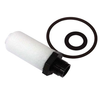 JUN-AIR® INOVADENT™ THREADED REGULATOR FILTER WHITE