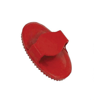 SOFT CURRY COMB JUNIOR RUBBER RED