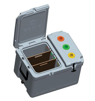 3-HOLSTER RANCH HAND VACCINATION COOLER