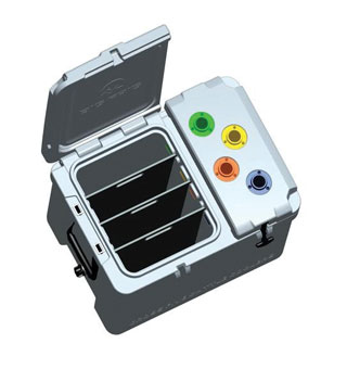 4-HOLSTER RANCH HAND VACCINATION COOLER