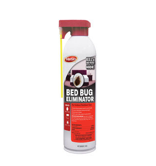 BED BUG ELIMINATOR AEROSOL SPRAY 15 OZ