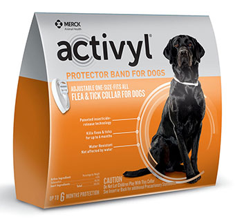 ACTIVYL® PROTECTOR BAND FOR DOGS 6/PKG