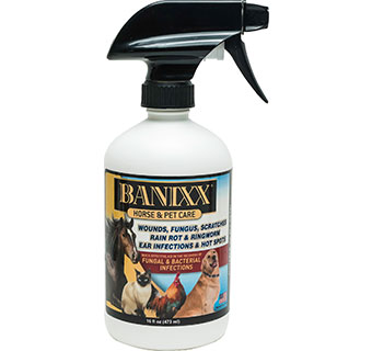 BANIXX WOUND & HOOF CARE SPRAY 16 OZ