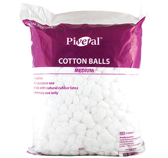 PIVETAL® COTTON BALLS MEDIUM 2000/PKG
