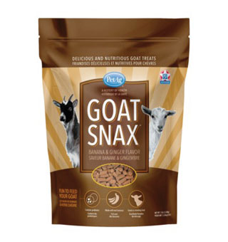 GOAT SNAX™ TREAT 9% PROTEIN 1.5% FAT BANANA/GINGER 5 LB