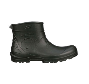 AIRGO™ 21121 CLEATED PLAIN TOE LOW-CUT BOOTS BLACK M10/W12