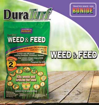 DURATURF WEED AND FEED 16 LB