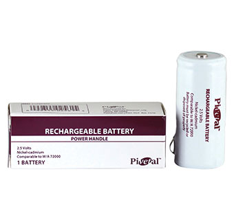 PIVETAL® RECHARGEABLE BATTERY 2.5V COMPATIBLE WITH W/A 72000 1/PKG