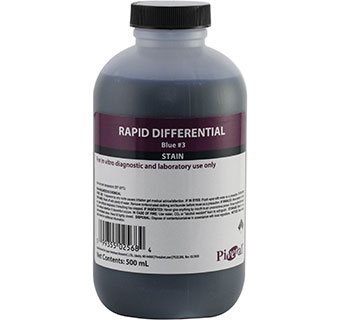 PIVETAL® RAPID DIFFERENTIAL STAINS COUNTER STAIN #3 500 ML 1/PKG