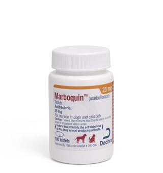 MARBOQUIN™ TABLETS 25 MG 100/BOTTLE (RX)