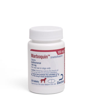 MARBOQUIN™ TABLETS 100 MG 50/BOTTLE (RX)